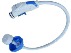 Truma inlet hose with pistol grip