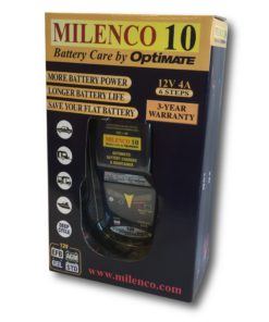 Milenco 10 Multi Step Smart Charger / Maintainer