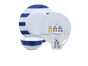 Royal Seashore Melamine Dining Set - 16pcs