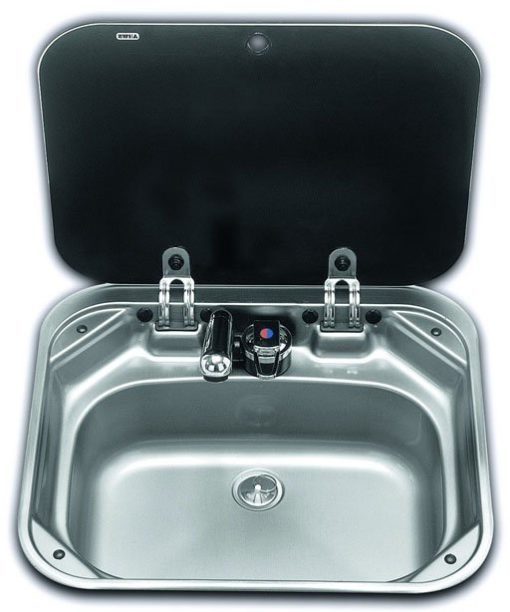 Dometic VA8005 Sink with glass lid